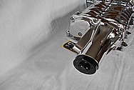 Aluminum Supercharger / Blower AFTER Chrome-Like Metal Polishing and Buffing Services / Restoration Services