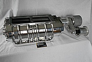 BDS Aluminum Supercharger / Blower AFTER Chrome-Like Metal Polishing and Buffing Services / Restoration Services