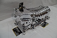 Ford Mustang VMP Aluminum Supercharger / Blower AFTER Chrome-Like Metal Polishing and Buffing Services / Restoration Services