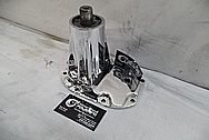 Aluminum Supercharger Bracket AFTER Chrome-Like Metal Polishing and Buffing Services / Restoration Services