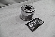 Aluminum Supercharger Pulley AFTER Chrome-Like Metal Polishing and Buffing Services / Restoration Services