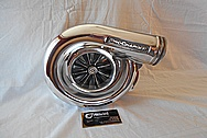 Procharger D1SC Aluminum Supercharger AFTER Chrome-Like Metal Polishing and Buffing Services