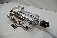 Ford Mustang GT500 Aluminum Supercharger AFTER Chrome-Like Metal Polishing and Buffing Services