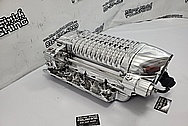 Aluminum Whipple Supercharger Casing AFTER Chrome-Like Metal Polishing and Buffing Services / Restoration Services - Aluminum Polishing