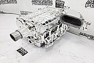 Ford Mustang Roush Aluminum Supercharger / Blower Project AFTER Chrome-Like Metal Polishing - Aluminum Polishing - Supercharger Polishing