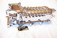 Ford Mustang Shelby GT500 Eaton Aluminum Supercharger / Blower AFTER Chrome-Like Metal Polishing and Buffing Services