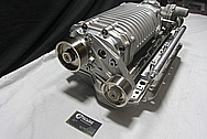 Magnuson Aluminum Supercharger / Blower / Intake Manifold / Brackets / Fuel Rails BEFORE Chrome-Like Metal Polishing and Buffing Services / Restoration Services