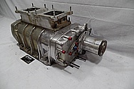 Aluminum V8 Engine Supercharger / Blower BEFORE Chrome-Like Metal Polishing and Buffing Services / Restoration Services