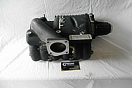 Toyota TRD Aluminum Supercharger / Blower BEFORE Chrome-Like Metal Polishing and Buffing Services / Restoration Services