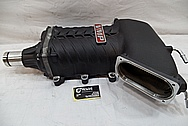 Ford Mustang VMP Aluminum Supercharger / Blower BEFORE Chrome-Like Metal Polishing and Buffing Services / Restoration Services