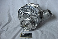 Ford Mustang V8 Aluminum F1A Supercharger BEFORE Chrome-Like Metal Polishing and Buffing Services