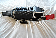 Aluminum Supercharger / Blower BEFORE Chrome-Like Metal Polishing and Buffing Services / Restoration Services