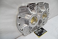 Aluminum Supercharger Piece BEFORE Chrome-Like Metal Polishing and Buffing Services / Restoration Services