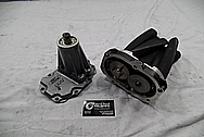Aluminum Supercharger Bracket BEFORE Chrome-Like Metal Polishing and Buffing Services / Restoration Services