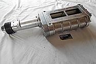 B&M Ford Aluminum Supercharger / Blower BEFORE Chrome-Like Metal Polishing - Aluminum Polishing