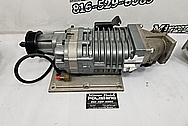 Aluminum Supercharger Casing BEFORE Chrome-Like Metal Polishing and Buffing Services / Restoration Services