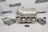 Ford Mustang Roush Aluminum Supercharger / Blower Project BEFORE Chrome-Like Metal Polishing - Aluminum Polishing - Supercharger Polishing