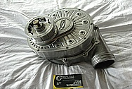 Ford Mustang ATI Aluminum Supercharger BEFORE Chrome-Like Metal Polishing and Buffing Services