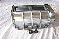 Aluminum 671 Supercharger Case BEFORE Chrome-Like Metal Polishing and Buffing Services