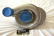 1993 BMW E36 BD Series Aluminum Powerdyne Supercharger / Blower BEFORE Chrome-Like Metal Polishing and Buffing Services