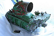 Aluminum Tractor Supercharger / Blower BEFORE Chrome-Like Metal Polishing and Buffing Services / Restoration Services