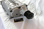 Ford GT500 SVT 5.8L Aluminum Supercharger / Blower BEFORE Chrome-Like Metal Polishing and Buffing Services / Restoration Services