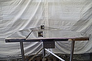 Stainless Steel Pharmaceutical Table AFTER Chrome-Like Metal Polishing and Buffing Services / Restoration Services