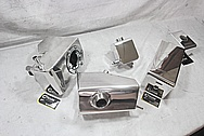 Ford Shelby GT500 Aluminum Moroso Tanks and Covers AFTER Chrome-Like Metal Polishing and Buffing Services / Restoration Services