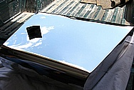 1950 Mercury Lead Sled Steel Tank AFTER Chrome-Like Metal Polishing and Buffing Services / Restoration Services