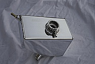 Ford Shelby GT500 Aluminum Coolant Reservoir Tank AFTER Chrome-Like Metal Polishing and Buffing Services