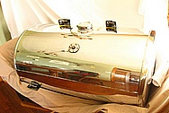 Aluminum Semi Truck Tank AFTER Chrome-Like Metal Polishing and Buffing Services / Restoration Service