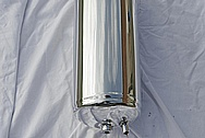 Metal Tank AFTER Chrome-Like Metal Polishing and Buffing Services