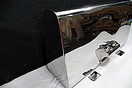 Custom Steel Car Gas Tank AFTER Chrome-Like Metal Polishing and Buffing Services / Restoration Service
