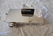 Aluminum Coolant Tank AFTER Chrome-Like Metal Polishing and Buffing Services - Aluminum Polishing Services
