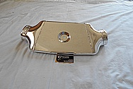 Aluminum Intercooler Tank AFTER Chrome-Like Metal Polishing and Buffing Services - Aluminum Polishing Services