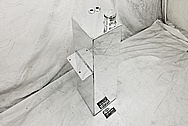 Aluminum Fuel Cell / Gas Tank AFTER Chrome-Like Metal Polishing and Buffing Services - Aluminum Polishing - Tank Polishing