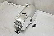 Norton Aluminum Motorcycle Gas Tank AFTER Chrome-Like Metal Polishing and Buffing Services / Restoration Services - Aluminum Polishing