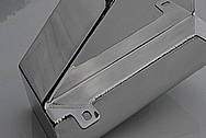 Ford Shelby Aluminum Reservoir Tank AFTER Chrome-Like Metal Polishing and Buffing Services