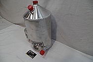 Aluminum Tank BEFORE Chrome-Like Metal Polishing and Buffing Services / Restoration Services