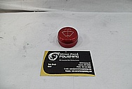 Aluminum Windshield Washer Fluid Cap to Tank BEFORE Chrome-Like Metal Polishing and Buffing Services / Restoration Services