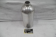 Aluminum CO2 Tank BEFORE Chrome-Like Metal Polishing and Buffing Services / Restoration Services