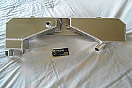 Ford Shelby GT500 Aluminum Tank BEFORE Chrome-Like Metal Polishing and Buffing Services - Aluminum Polishing