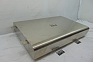 Stainless Steel Gas Tank BEFORE Chrome-Like Metal Polishing and Buffing Services - Stainless Steel Polishing - Tank Polishing