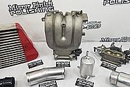 Mazda RX-7 Aluminum Tank BEFORE Chrome-Like Metal Polishing and Buffing Services - Aluminum Polishing
