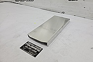 Ford Shelby GT500 Aluminum Cover BEFORE Chrome-Like Metal Polishing and Buffing Services - Aluminum Polishing