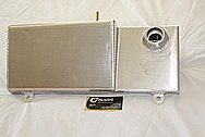 Ford GT500 Aluminum Reservoir Tank(s) BEFORE Chrome-Like Metal Polishing and Buffing Services / Resoration Services