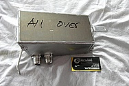 Toyota Supra Aluminum Reservoir Tank BEFORE Chrome-Like Metal Polishing and Buffing Services / Resoration Services