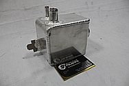 Ford Shelby GT500 Aluminum Moroso Tanks and Covers BEFORE Chrome-Like Metal Polishing and Buffing Services / Restoration Services