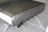 1950 Mercury Lead Sled Steel Tank BEFORE Chrome-Like Metal Polishing and Buffing Services / Restoration Services
