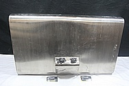 Custom Steel Car Gas Tank BEFORE Chrome-Like Metal Polishing and Buffing Services / Restoration Service